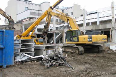 Mikkeli Pikkutori hoonete lammutamine