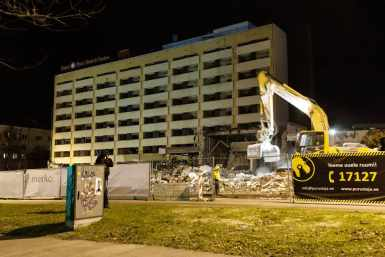 Park hotelli lammutamine