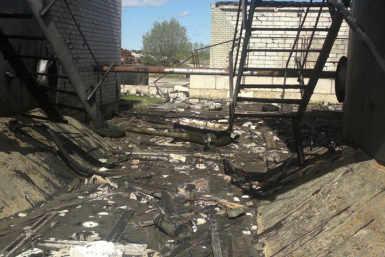 Vinni katlamaja korstna ja mahutipargi lammutamine